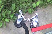 La construcción de un enganche de remolque bicicleta flexible fuerte.