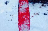 Snowboard/Snowskate de una cubierta del patín del