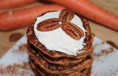 Panqueques de zanahoria torta