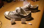 Absorber o quitar olor de los zapatos