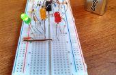 Construcción de un semáforo de LED 9V simples