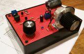 Radio de onda corta de tres Transistores