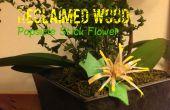 Madera reciclada: Popsicle Stick flor