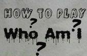 Cómo jugar: quién soy yo