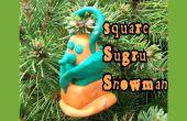 Plaza Sugru adorno de Navidad muñeco de nieve