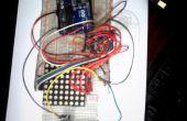 Arduino Ping pong con matriz de punto de 8 * 8 y Max7219