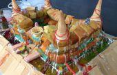 Torta de Castillo (destruir su comida y comer)