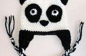 Sombrero del Earflap de oso panda