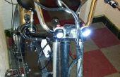Sistema de Iluminación Frontal de bicicleta alimentado por USB
