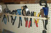 Simple y barato organizador de herramientas