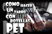 Tarro con botellas PET