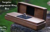 Sorpresa caja de anillo de compromiso