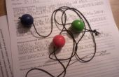 Cómo hacer un asombroso juguete con 3 bolas y una cadena de física