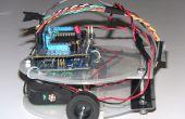 Basados en Arduino robot velocista QTR-8RC Pololu sensor de línea