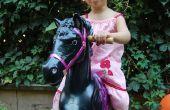 Posterior un caballo Retro