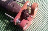 Fresadora mini de madera precisión base para herramienta rotatoria (con el prototipo de cartón)
