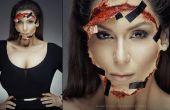 Kim Kardashian grabó en rostro - Tutorial de maquillaje SFX