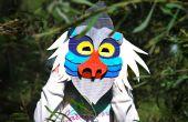 Makedo babuino máscara