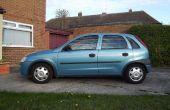 Cambiar una bomba de agua Corsa de Vauxhall