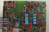 PCB inversa ingeniería usando GIMP