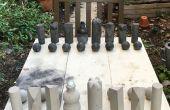 Ajedrez para exteriores de concreto