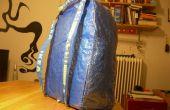 Hack IKEA: azul bolsa mochila