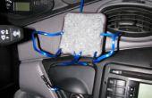 Cómo hacer un coche universal dock para tu teléfono, GPS, o reproductor de MP3.