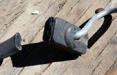 Reutilizar el uso para una viejo caucho Bungee correa (Idea de proyecto de DIY)
