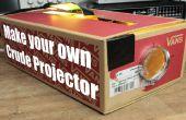 Hacer tu propio proyector crudo