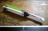 Cuchillo de la mariposa de LEGO (Balisong)