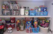 Cómo organizar tu despensa de la cocina.