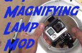 Fijar una GoPro en una lámpara de aumento!