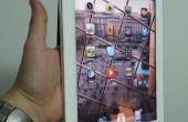 Titular basado en el Smart Cover iPad2 con una sola mano