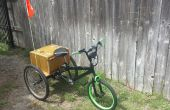 Trike eléctrico con frontales de bmx.