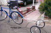 BICICLETA utilidad carro de viejo tire carro de GOLF