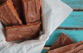 Butterfingers casero hecho con granos de caramelo!