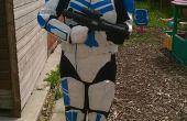 Modificación de la armadura de clon: comando TK