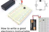Cómo escribir una buena electrónica Instructable