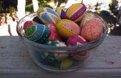 Para siempre los huevos de Pascua, dos maneras de