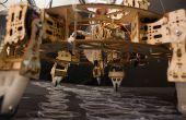 Geoweaver: Una impresora 3D hexápodo poca