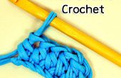 Cómo hacer la puntada de Crochet doble medio