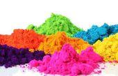 Holi-bricolaje colores naturales