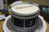Un pastel de Chocolate de tambor!