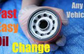 Cómo cambiar su aceite de rápida y fácil