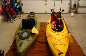 Aparejar un fregadero (sentarse en kayak) para la pesca