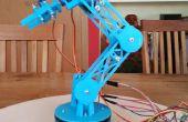 3D brazo robótico de impresos