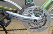 Protector de cadena de bicicleta simple de anillo de la gran cadena