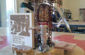 """Bonsai eléctrica """"Una nueva temática arte forma sostenible"""" Intro-parte #1 la historia de viento"""