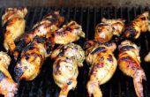 Pechugas rellenas alitas de pollo picantes
