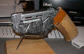 Cyber/Steampunk Futuresque arma de la mano de Sci-Fi